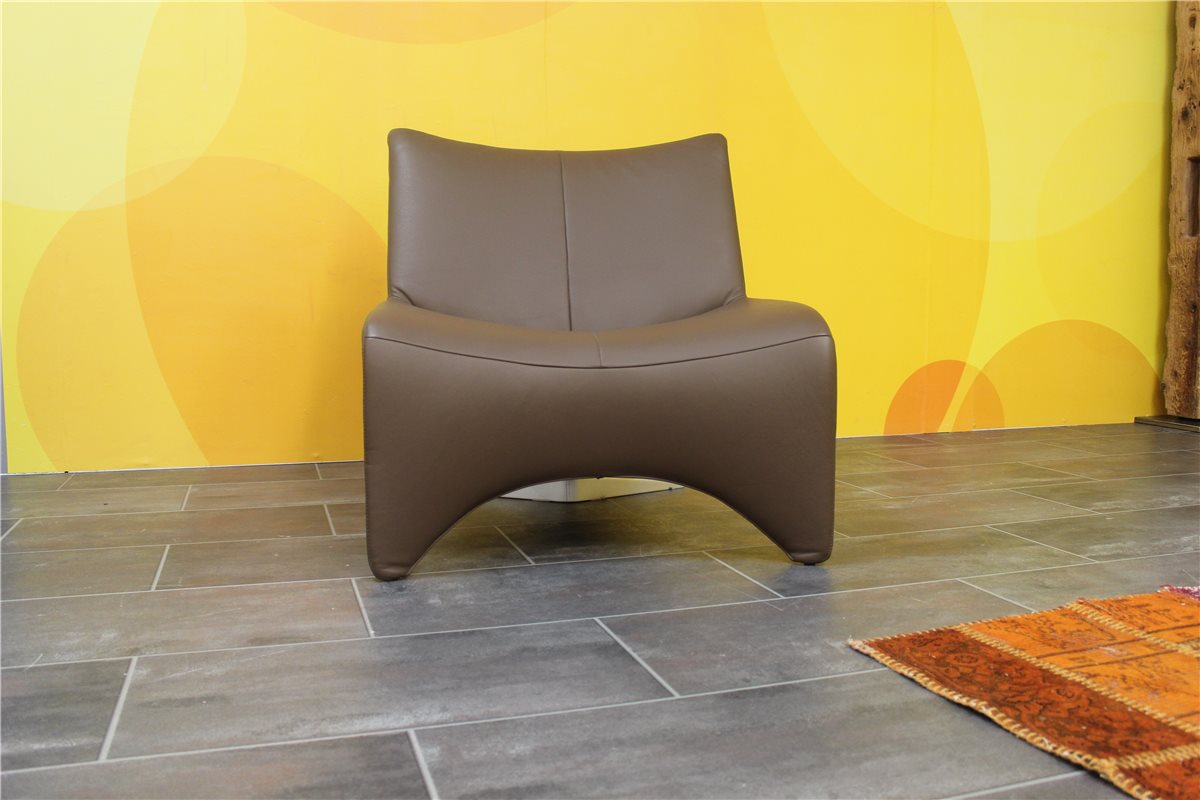 w schillig jan 14300 sessel me leder z71 56 dunkelbraun schnaeppchen ebay. Black Bedroom Furniture Sets. Home Design Ideas