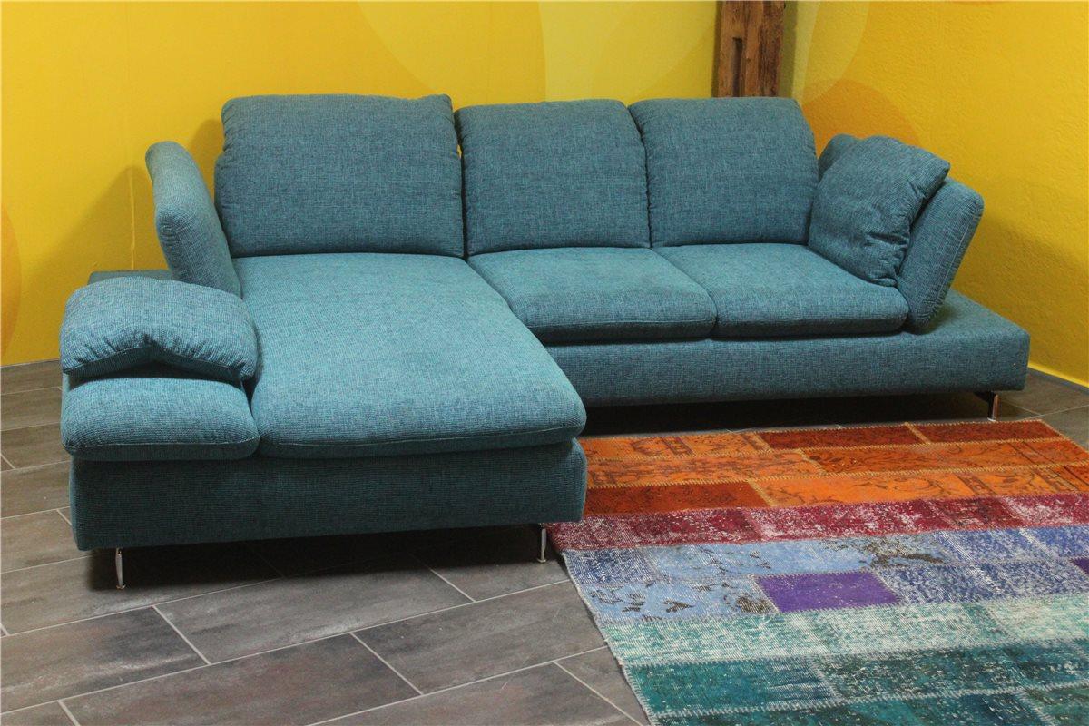 w schillig 15281 ecke 2tlg mit vielen funktionen stoff s17 26 t rkis kunde ebay. Black Bedroom Furniture Sets. Home Design Ideas