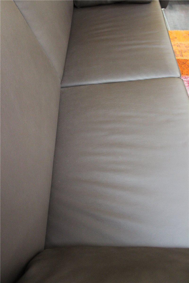 w schillig 13058 cazino variante sofa n80 leder z51 54 braun musterst ck ebay. Black Bedroom Furniture Sets. Home Design Ideas