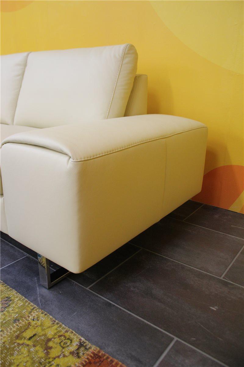 w schillig 29882 boow sofa n75 longlife leder z 59 47 vanille nullserie ebay. Black Bedroom Furniture Sets. Home Design Ideas