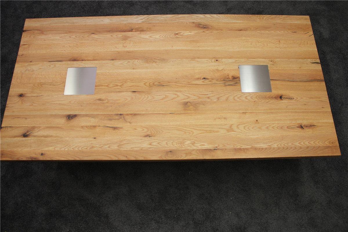 woessner colorado tisch 220 110 eiche ge lt mit. Black Bedroom Furniture Sets. Home Design Ideas