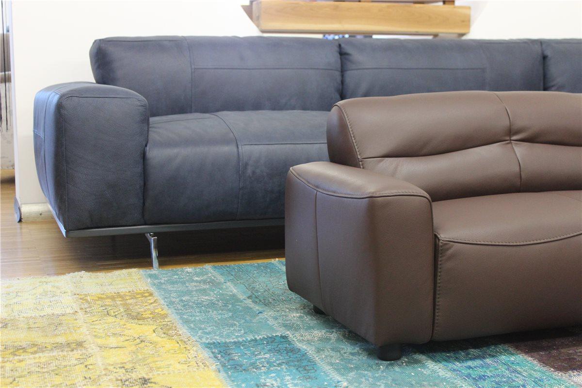 w schillig william mini kindersofa anilinleder z76 54 dunkelbraun marktt ebay. Black Bedroom Furniture Sets. Home Design Ideas