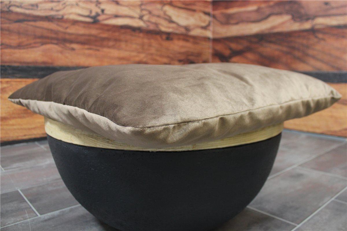 k w kissen 74 54 samt braun schn ppchen ebay. Black Bedroom Furniture Sets. Home Design Ideas